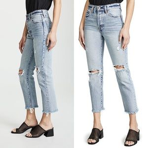 Levi's Wedgie Straight Selvedge Jeans Lost Inside